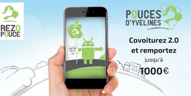 Coup de Pouces d'Yvelines : Covoiturez 2.0 et remportez 1000€ !