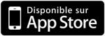 Bouton de téléchargement de l'application Mobile pour Iphone