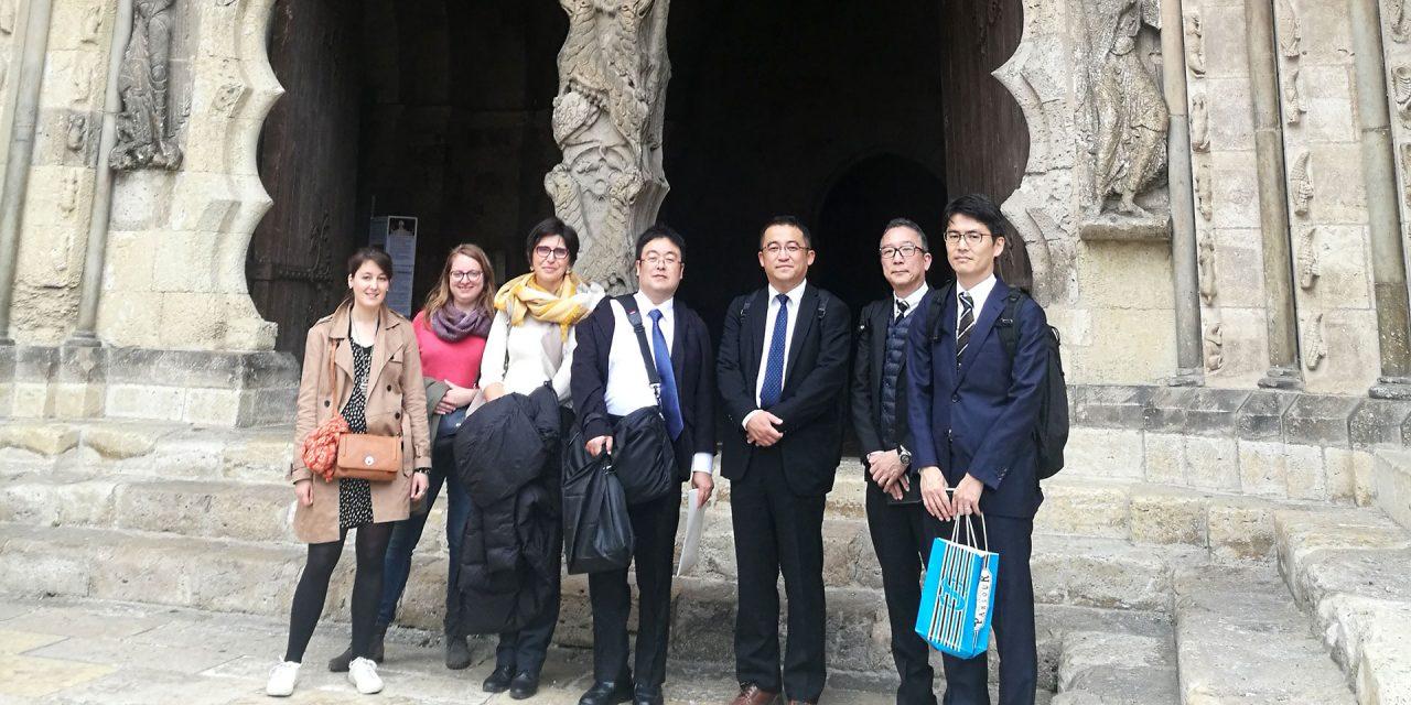 Une délégation du Ministère des Transports du Japon rend visite à Rezo Pouce.